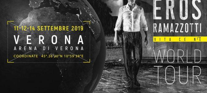 #ErosRamazzotti in #concerto all' #ArenadiVerona